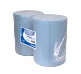 Euro industriepapier perf recycled blauw 400 meter