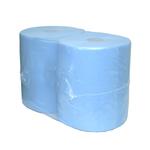 Industriepapier blauw verlijmd 2-lg 380mtr 3