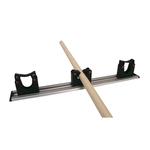 Toolflex wandstrip m. klem zwart 50 cm 20/3
