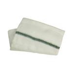 Dweil geweven groene streep 60x70 cm 10 stuks