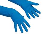 Vileda handschoen multipurpose blauw M per paar
