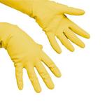 Vileda handschoen multipurpose geel M per paar
