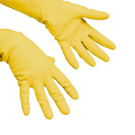 Vileda handschoen multipurpose geel L per paar