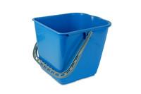 Wecoline mopemmer 25 liter blauw voor mopwagen