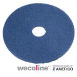 Vloerpad blauw 16 inch 5 stuks