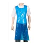 Comfort PE Scheurschorten blauw op blok 125 x 81cm 50 my