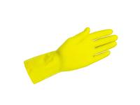 H H handschoen mt S ansel latex geel