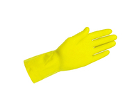H H handschoen mt L ansel latex geel