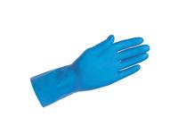 H H handschoen blauw latex M