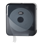 Euro pearl black jumbo toiletroldispenser mini