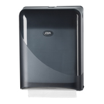 Euro pearl black handdoekdispenser m-fold c-fold