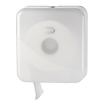 Euro pearl white jumbo toiletroldispenser mini