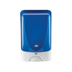 Deb touchfree dispenser wit/chromen rand
