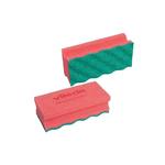 Vileda puractive spons rood-groen