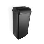 Satino black afvalbak kunststof 23 liter