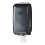Euro pearl black mini dispenser universeel voor alle mini feed papierrollen