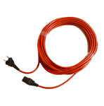 Numatic snoer 12.5 meter 2-aderig stekker plug tbv ppr hrp hep