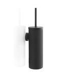 Satino black toiletborstel garnituur metaal zwart