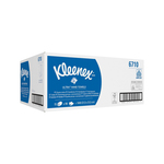 Kimberly clark kleenex ultra soft handdoeken airflex interfold 3 laags wit 41.5x21.5 cm 30x72 doeken
