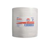 Wypall poetsdoeken X70 hydroknit wit 1 laags 38x41 cm grote rol