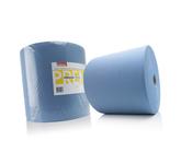 Satino premium poetsrol blauw 3 laags 350 meter 37 cm