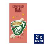 Unox Cup-a-Soup Champignon Ham 21 x 175 ml
