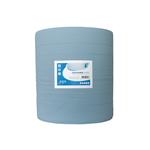 Industrierol blauw 3 laags 37 cm 380 meter