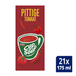 Unox Cup-a-Soup Pittige Tomaat 21 x 175 ml