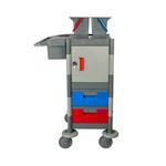 Werkwagen Compact grijs