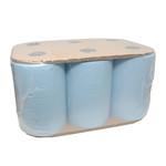 Handdoekrol ultimatic cel blauw 6x110mtr