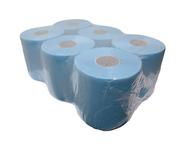Midi rol 2-lgs blauw verlijmd 20cm 150m a6