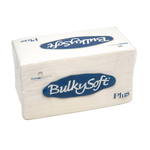 Bulkysoft 2lgs ptp servet 38x38cm wit 20x40st