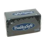 Bulkysoft 2lgs servet 38x38cm zwart 20x40st