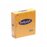 Bulkysoft 2lgs ptp servet 38x38cm geel 36x40st