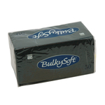 Bulkysoft 2 laags servetten 33x33cm 1/8 pure cellulose licht blauw 40x50st