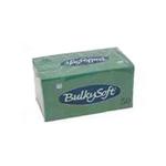 Bulkysoft 2lgs servet 33x33cm groen 40x50st