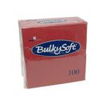 Bulkysoft 2lgs servet 40x40cm bordeaux 20x100st