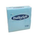 Bulkysoft 2lgs servet 40x40cm licht bl 20x100s
