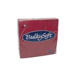 Bulkysoft 2lgs servet 33x33cm bordeaux 24x50st