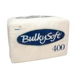 Bulkysoft 1lgs servet 27 x 30 cm wit