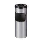 As-papierbak met dover zwart/alu 30 liter