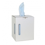 Euro x-wipe blauw op rol dispenserbox 300st