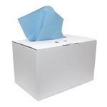 Euro industriepapier blauw verlijmd in disp.doos