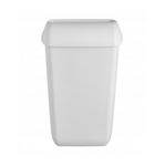 White quartz afvalbak 43 liter