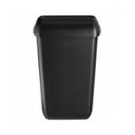 Black quartz afvalbak 43 liter