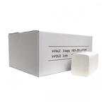 Euro papieren handdoek z-vouw tissue wit  2 laags 21x24 cm 3990 stuks