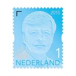 Postzegel koning willem-alexander 10x nr.1  a50