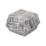 Pubchalk hamburgerbak groot karton 120x120x100 mm 100 stuks