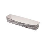Pubchalk snackbak karton/coating A16N frikandel 185 x 33 x 35 mm
