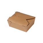 Biodore maaltijdbox karton/PLA 171x140x65 mm 50 stuks